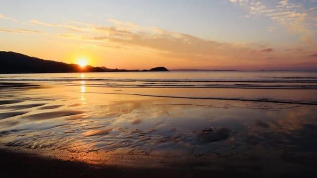 sunset in itoshima